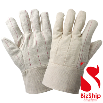 BizShip-Cotton-Hot-Mill-Gloves Double Palm